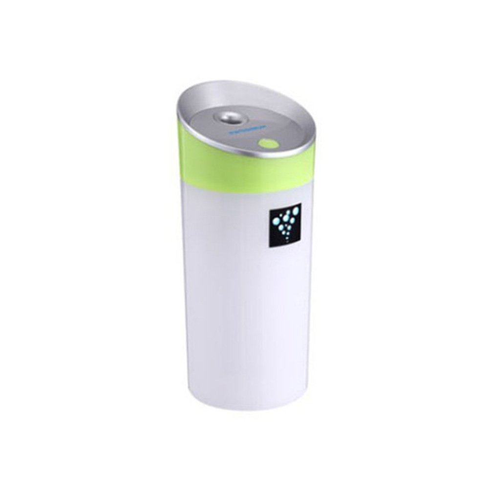 Portable Mini Home Hotel Office USB Water Cup Shape Air Humidifier Desk Decor - Green Ameesi