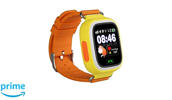 Leotec Reloj Inteligente LESWKIDS02OAMZ: Amazon.es: Relojes