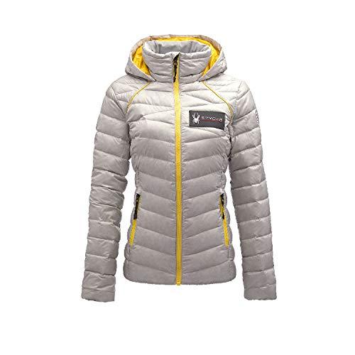 Spyder Active Sports Women's U.S. Ski Team Timeless Down Jacket,  Maverick Gray,  Small