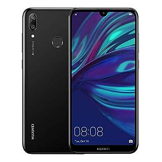 Huawei Y7 2019 DUB-LX3 32GB Unlocked GSM Phone w/ Dual 13MP + 2MP Camera - Midnight Black (Renewed)