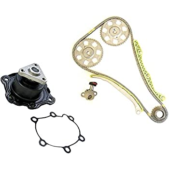 Diamond Power Timing Chain Kit & Water Pump Set works with Saturn SC2 SL2 SW2 1.9 L DOHC