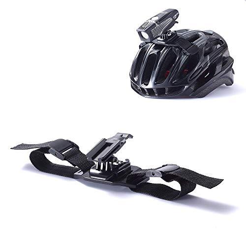 Best Tek NiteRider Helmet Mount, NiteRider Helmet Strap for Lumina 1100 Micro Mako Series