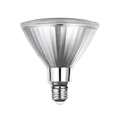 Explux Commercial Lighting Premium Full-Glass LED PAR38 Flood Light Bulbs