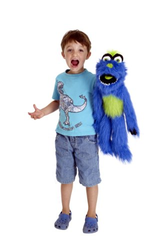 lue Monster Hand Puppet ()