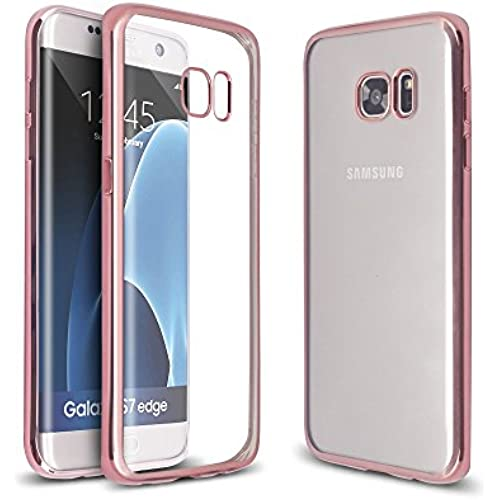 Arbalest Samsung Galaxy S7 Edge Case, Ultra Slim Crystal Clear Plating Shiny Bumper Soft TPU Silicone Cover Skin Perfect Fit for Samsung Galaxy S7 Edge Sales