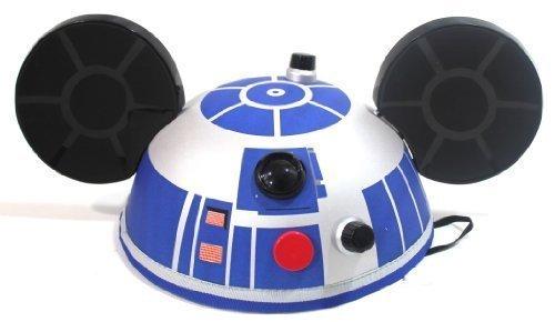 Disney Parks Star Wars R2 D2 Mickey Ears Hat ()