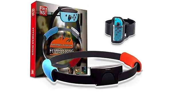 Amazon.es: GoolRC Compatible con Nintend Switch Joy-con Ring Fit Adventure Game Correa de Pierna Elástica Ajustable Sport Band Ring-con Grips Leg (El Producto no Contiene Juegos)
