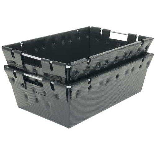 Protektive Pak Plastek Polypropylene ESD / Anti-Static Nesting Tote - 27 1/4 in Length - 18 in Wide - 39142 [PRICE is per EACH]