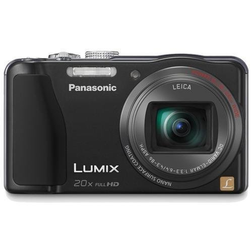 (Panasonic Lumix ZS20 14.1 MP High Sensitivity MOS Digital Camera with 20x Optical Zoom (Black) (OLD MODEL))
