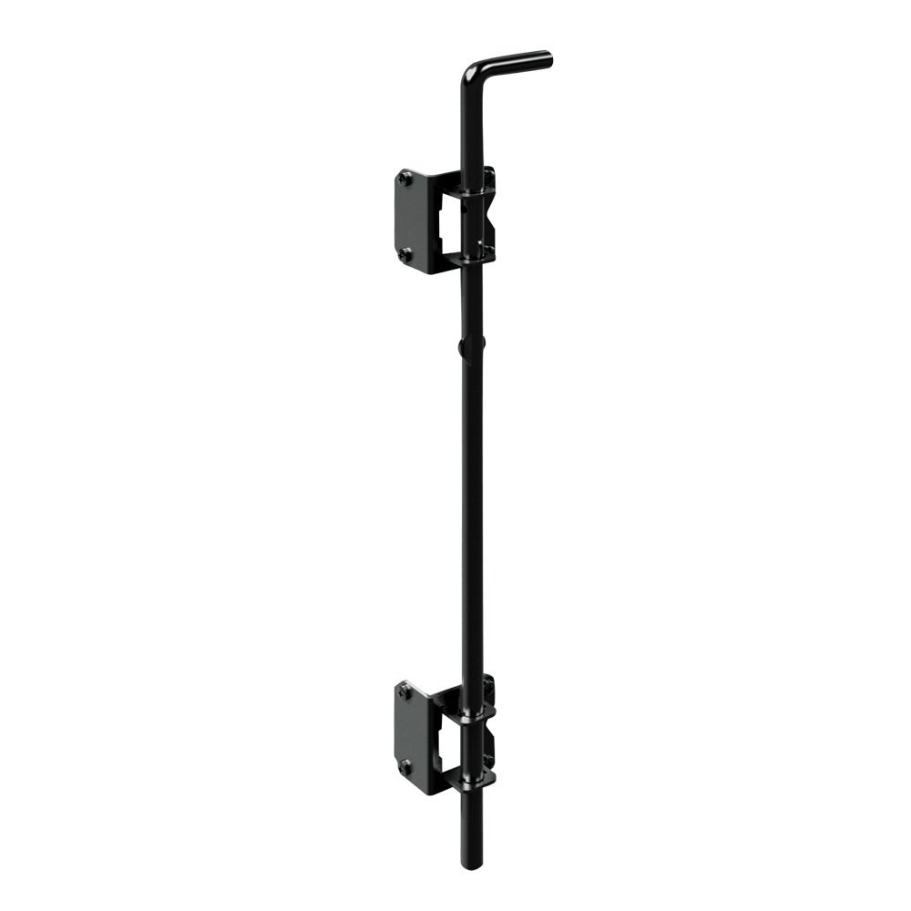 "Boerboel Gate Solutions 73014305 24"" Heavy-Duty Drop Rod Black"