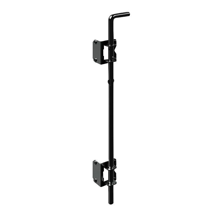 "Boerboel Gate Solutions 73014305 24"" Heavy-Duty Drop Rod Black"