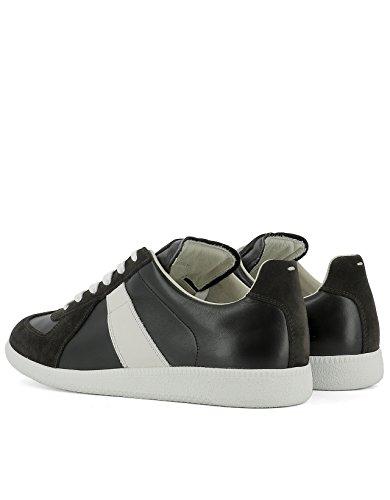 MAISON MARGIELA Sneakers Uomo S57ws0134sy0299963 Pelle Bianco/Nero