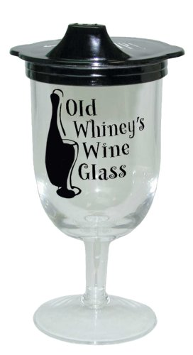 Laid Back Old Whiney Sippie Wine Glass