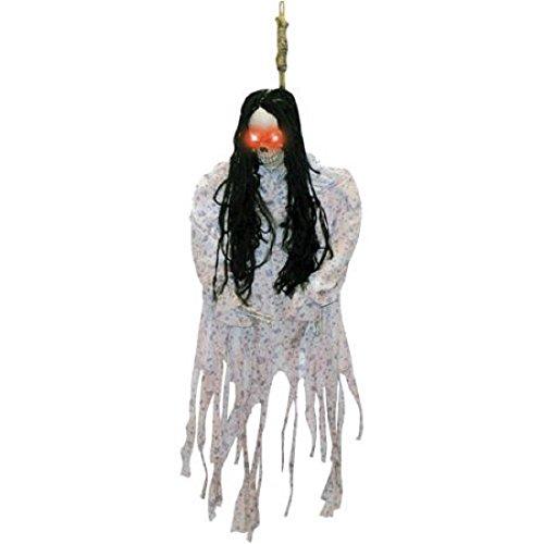 - 3' Hanging Skeleton, Light-up eyes In Pj's Halloween Decoration