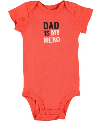Carters Boys Baby Dad Is My Hero Short Set 9 Month Navy//orange