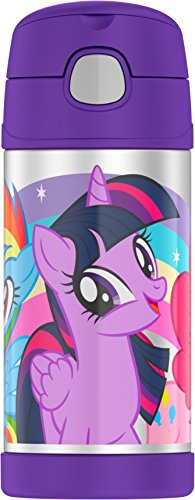 Thermos Funtainer 12 Ounce Bottle, My Little Pony -
