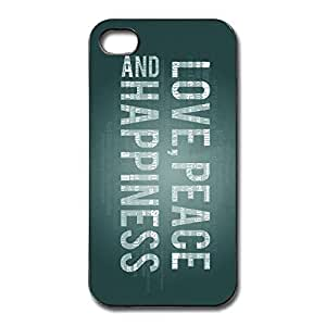 Love Peace Slim Case Case Cover For IPhone 4/4s - Fashion Case