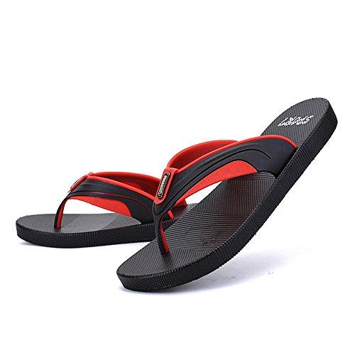 De Zapatillas Playa 3 De Naranja Unisex Color De Wangcui 40 2 Playa Pareja EU Zapatillas Zapatillas tamaño Rojo AHfw51qd