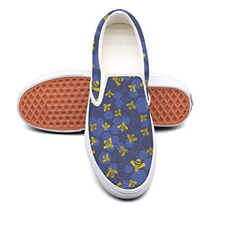 hjkggd fgfds Casual B07DQP3Q3F Honey Bee Killer Womens Canvas Shoes Skate Shoe B07DQP3Q3F Casual Shoes b447d0