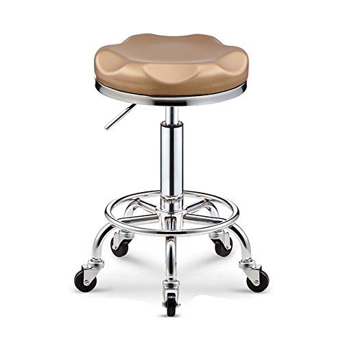 Mena Swivel Chair Mesurn Silla de Taburete de Elevación de Gas giratoria Beauty Salon, con Ruedas, Rotación de 360...