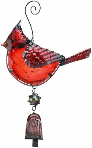 Regal Art & Gift Cardinal Ornament with Bell Chime (Discontinued by ()
