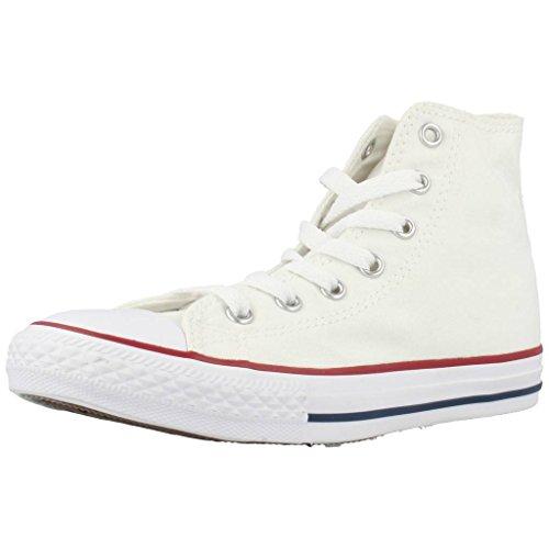 Converse - Zapatillas de tela para niños Color Blanco