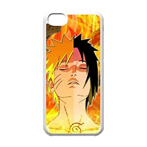iPhone 5c Cell Phone Case White Naruto vxfe
