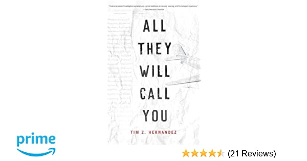 All They Will Call You (Camino del Sol) Reprint Edition