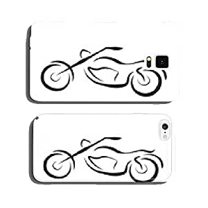 chopper motorcycle vector cell phone cover case iPhone5