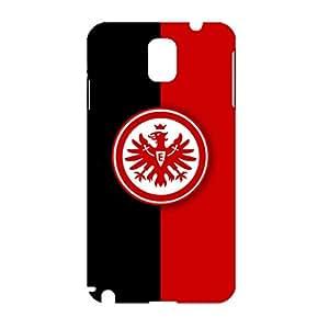 3D Eintracht Frankfurt Collection Football Club Logo Photo Hard Black Plastic Anti-Slip Smartphone Cover For Samsung Galaxy Note 3