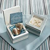 Set of 24 Beach Theme Wooden Trinket Boxes Wedding Party Favors Gifts