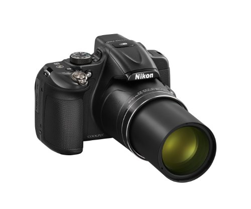 Nikon COOLPIX P600 16.1 MP Wi-Fi CMOS Digital Camera with 60x Zoom NIKKOR Lens and Full HD 1080p Video (Black) (Discontinued by Manufacturer)