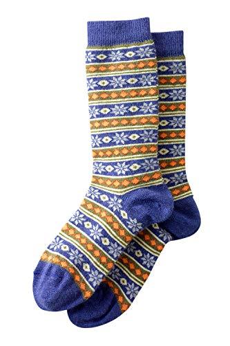 Tey Art Fair Trade Pattern Alpaca Socks