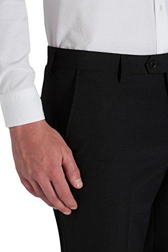 next Homme Costume en laine mélangée:pantalon Noir 30 / Short - Regular Fit