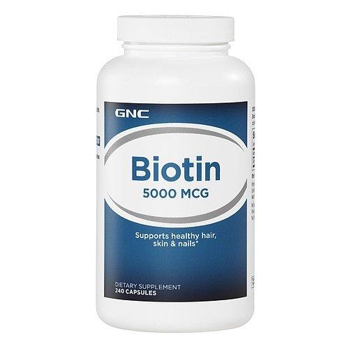 GNC Biotin 5000 mcg 240 caps