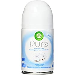 Air Wick Pure Freshmatic Refill, Automatic Spray Air Freshener, Sunset Cotton, 1 Refill