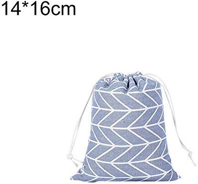 FOReverweihuajz - Bolsa de algodón y lino con cordón para guardar ...
