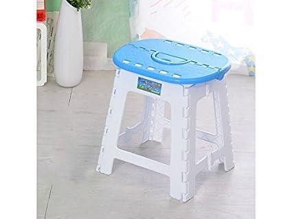 Adream semplice sgabello per bambini pieghevole in plastica sgabello