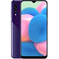 Samsung Galaxy A30S A307G 64GB Unlocked GSM Dual SIM Phone w/Triple (25MP+8MP+5MP) Camera - (Violet)