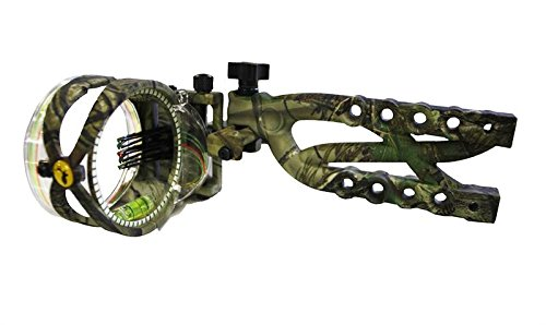 Trophy Ridge AS635 Cypher .019 Micro Adjust Bow Sight, Camo, 5 Pin