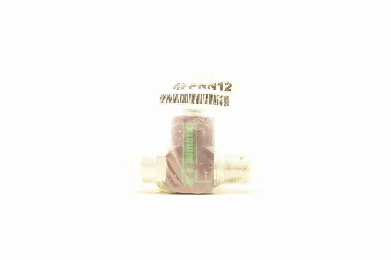 NUMATICS 4FPRN12 3//8IN Tube 1//2IN NPT Pneumatic Flow Control Valve R719701