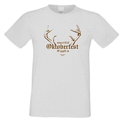 Wiesn T-Shirt statt Tracht & Dirndl - Since 1810 Oktoberfest - Lustiges Spruchshirt als Geschenk zum Volksfest sp2