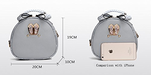 Cover Set Women's Purse Party Pieces For Tote LLXY Gray amp; Black Office 6 Formal Shopping Beige Red Bags PU Career Red wzIOxdO0q8