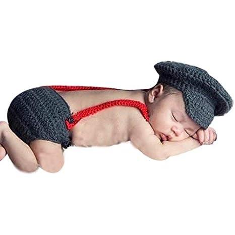 Pilot, recién nacido bebé niña/niño ganchillo Costume Foto ...