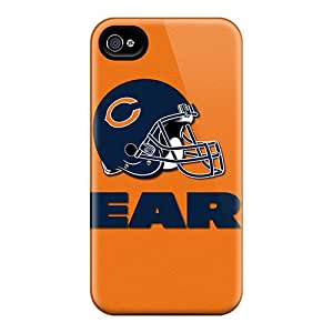 Bumper Hard Phone Cases For Iphone 6plus (LKm9467QRlV) Customized Vivid Chicago Bears Skin