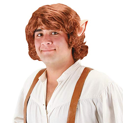 Fun Express - Bilbo Baggins Adult Wig with for Halloween - Apparel Accessories - Costume Accessories - Wigs & Beards - Halloween - 1 Piece]()