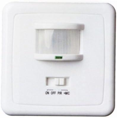 Detector empotrar movimiento-sonido 1400971 Gsc