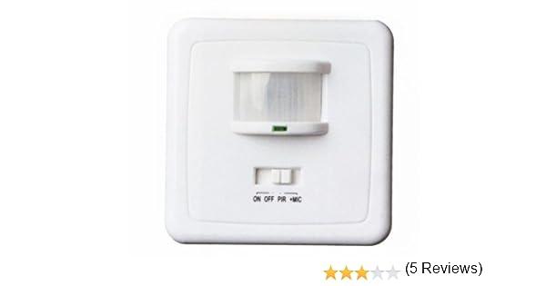 Gsc - Detector empotrar movimiento-sonido 1400971: Amazon.es ...