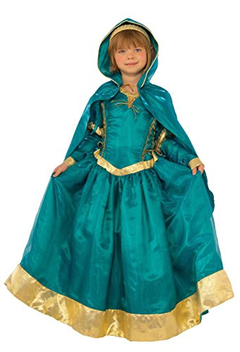 Rubie's Deluxe Princess Emma Costume, Teal, Toddler ()