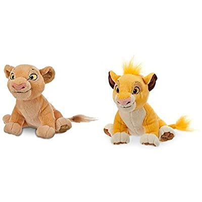 Simba Plush and Nala Plush The Lion King - Mini Bean Bag - 7'': Toys & Games